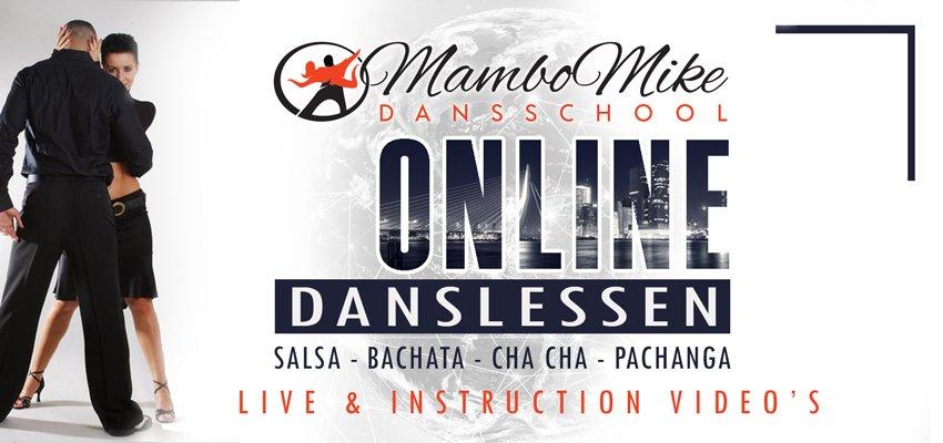 Online danslessen Salsa Bachata
